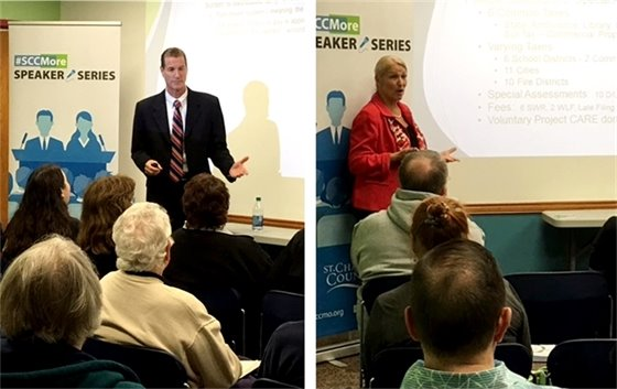 Assessor and Collector at Speaker Series