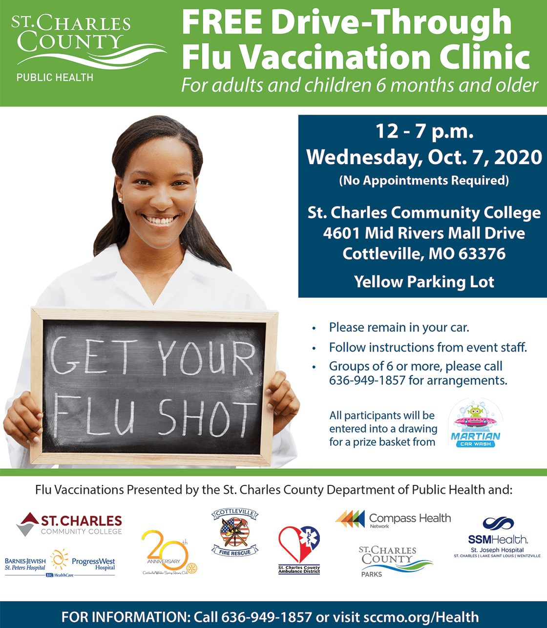 Flu Clinic 100720 graphic