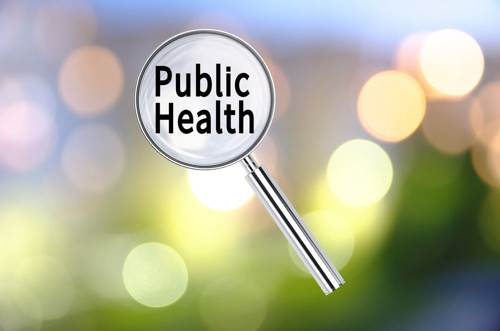 Public Health magnifying glass
